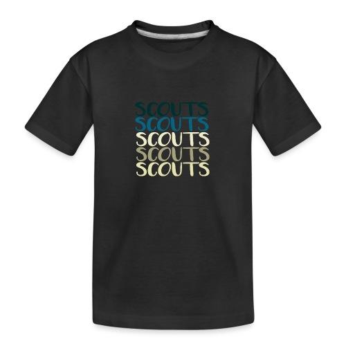 SCOUTS Typo Strandmix - Teenager Premium Bio T-Shirt