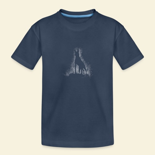 Dog Silhouette - Teenager Premium Bio T-Shirt