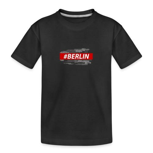 Hashtag Berlin - Teenager Premium Bio T-Shirt