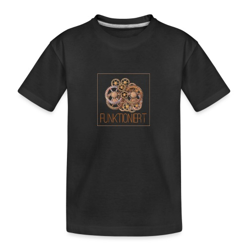 Zahnräder shirt - Teenager Premium Bio T-Shirt