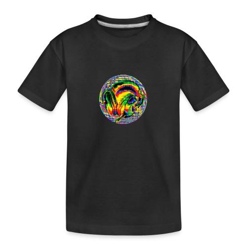 Casque à facettes - T-shirt bio Premium Ado