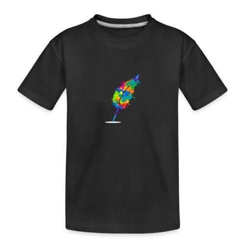 Original Schreiben-im-Flow.de - Feder - Teenager Premium Bio T-Shirt