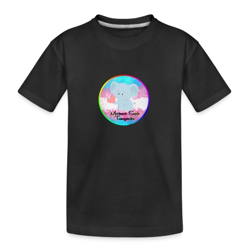 Logo Dell'Associazione Movimento Sardo Transgender - Maglietta ecologica premium per ragazzi
