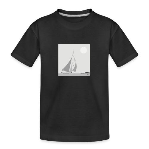 sailing ship - Teenager Premium Organic T-Shirt