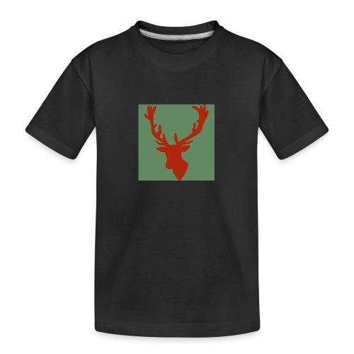 Hirch B RED - Teenager Premium Bio T-Shirt