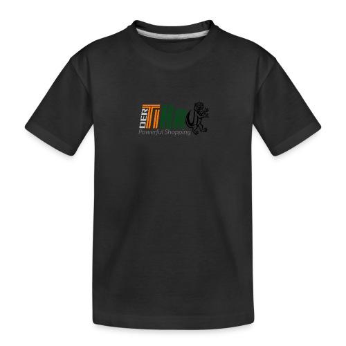 DerTiKro Transparent - Teenager Premium Bio T-Shirt