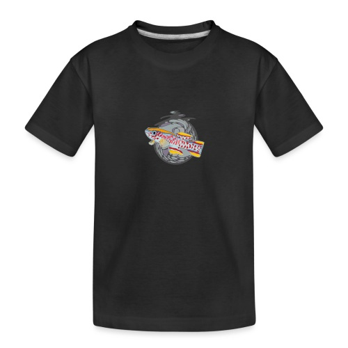Space Fish Bluecontest - T-shirt bio Premium Ado