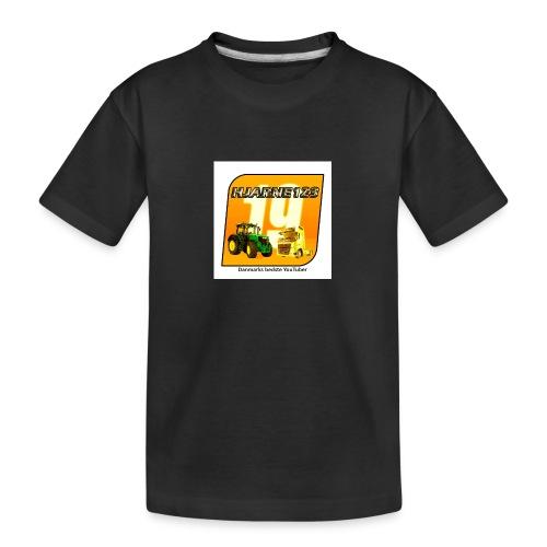 hjarne 123 danmarks bedeste youtuber - Teenager premium T-shirt økologisk