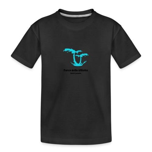 LOGO PARCO DELLE VILLETTE - Maglietta ecologica premium per ragazzi