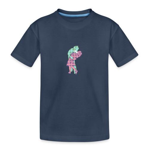 Amor coronavirus - Camiseta orgánica premium adolescente
