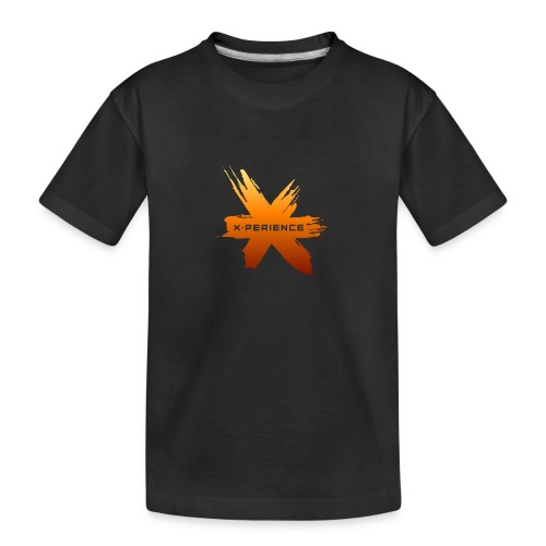 X-Perience Orange Logo - Teenager Premium Bio T-Shirt