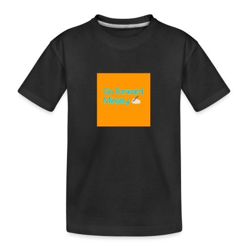 gå framåt ministeriet - Ekologisk premium-T-shirt tonåring