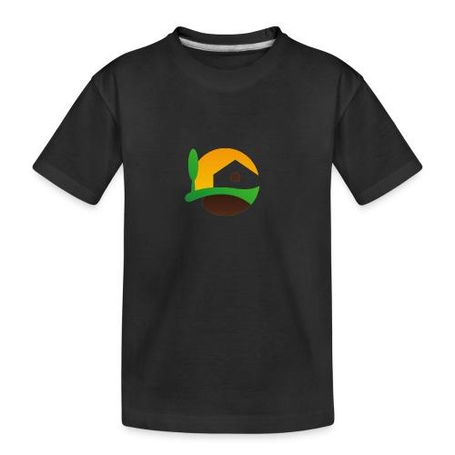 Neues Logo ohne Schriftzug - Teenager Premium Bio T-Shirt
