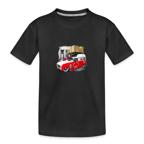 R4 4L F4 vehicules-anciens.fr - T-shirt bio Premium Ado