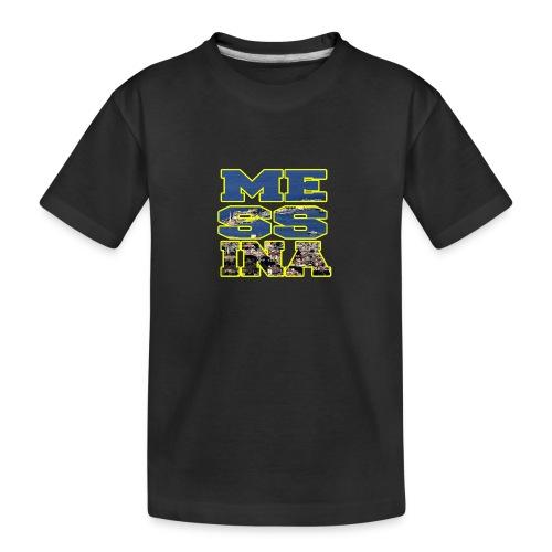 MESSINA YELLOW - Maglietta ecologica premium per ragazzi