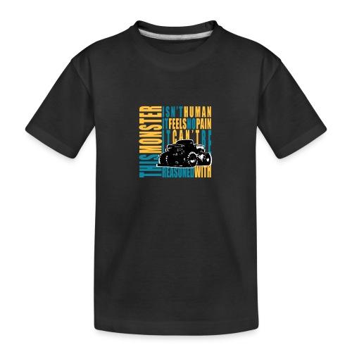 This monster - Ekologiczna koszulka młodzieżowa Premium