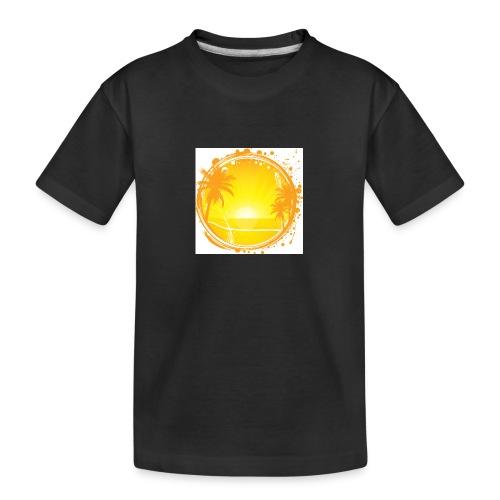 Sunburn - Teenager Premium Organic T-Shirt