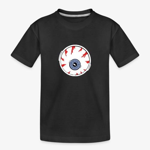 I keep an eye on you / Auge - Teenager Premium Bio T-Shirt