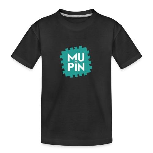 Logo Mupin quadrato - Maglietta ecologica premium per ragazzi