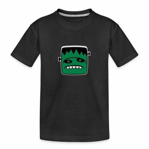 Fonster Weisser Rand ohne Text - Teenager Premium Bio T-Shirt