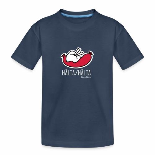 Hälta Hälta - Ekologisk premium-T-shirt tonåring