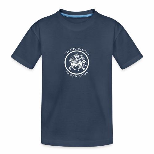 viking blood - Camiseta orgánica premium adolescente