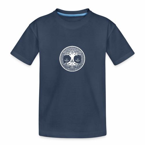 celtic tree - Camiseta orgánica premium adolescente