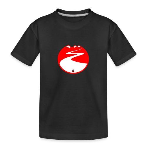 Montagne rouge - T-shirt bio Premium Ado