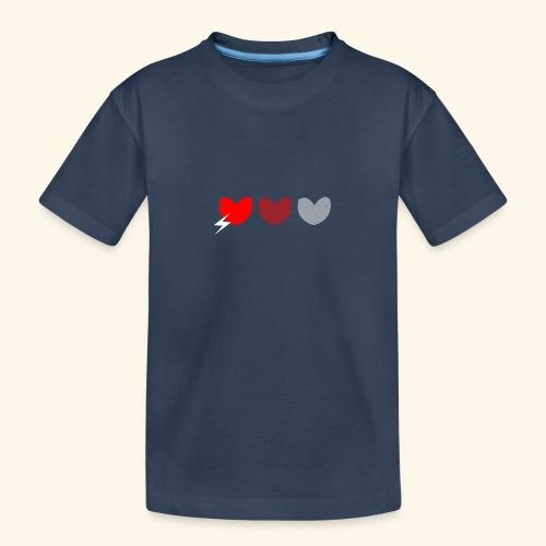 3hrts - Teenager premium T-shirt økologisk