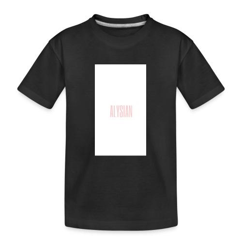 ALYSIAN LOGO - Maglietta ecologica premium per ragazzi