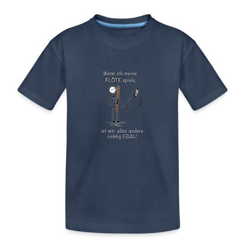 Recorder Love f. dark colours - Teenager Premium Organic T-Shirt