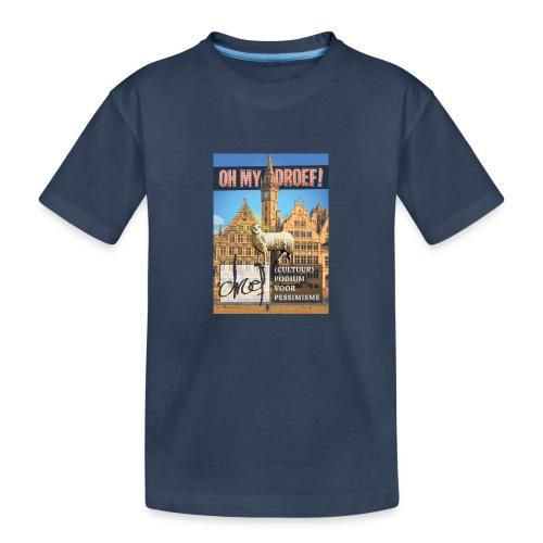 Oh My Droef! - Teenager premium biologisch T-shirt