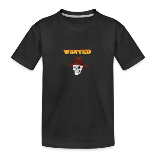 WANTED AR - Camiseta orgánica premium adolescente