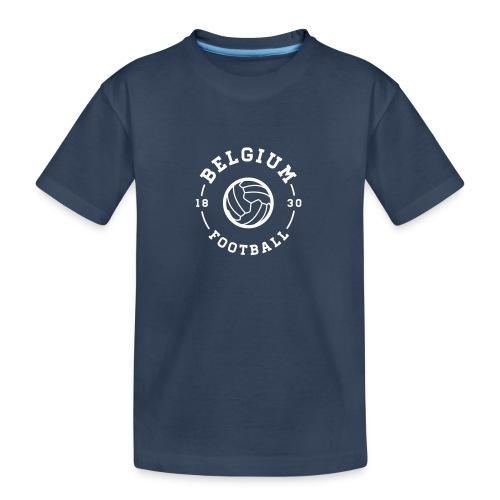 Belgium football - Belgique - Belgie - T-shirt bio Premium Ado