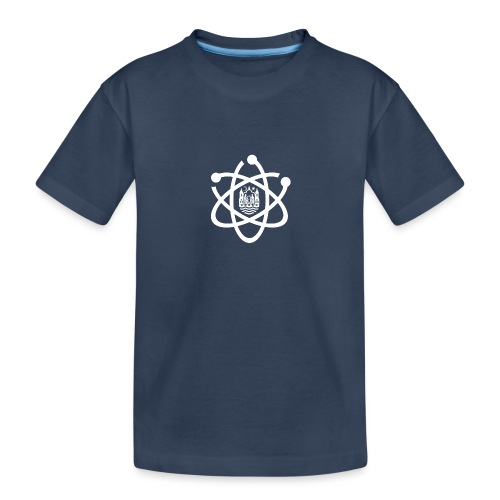 March for Science Aarhus logo - Teenager Premium Organic T-Shirt