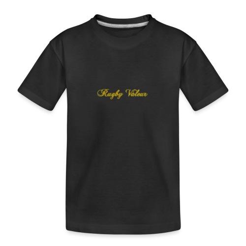 Rugby valeur 🏈 - T-shirt bio Premium Ado