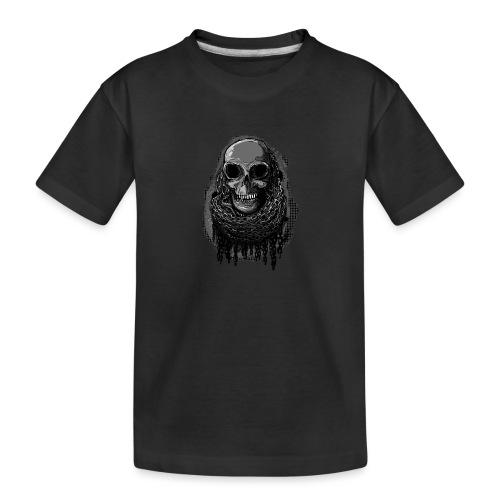 Skull in Chains - Teenager Premium Organic T-Shirt