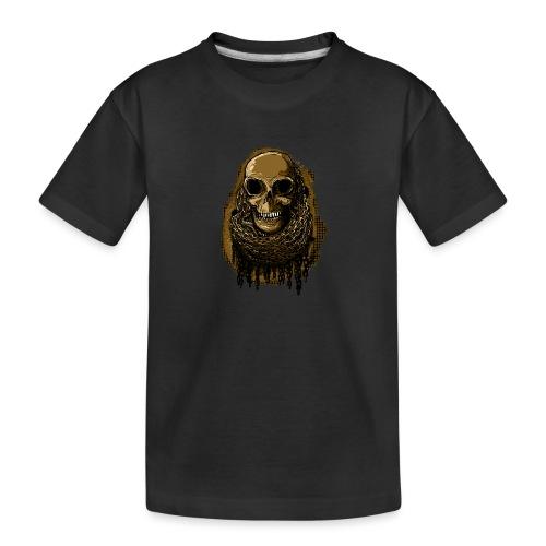 Skull in Chains YeOllo - Teenager Premium Organic T-Shirt