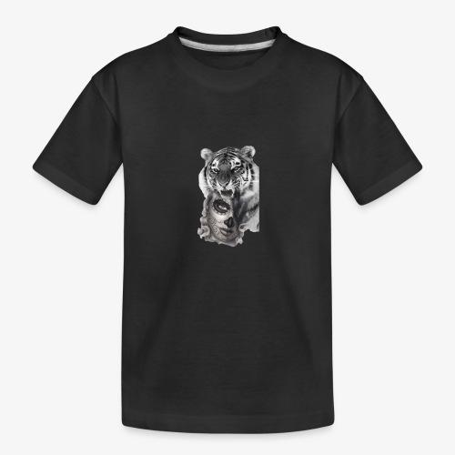 catriger - Camiseta orgánica premium adolescente