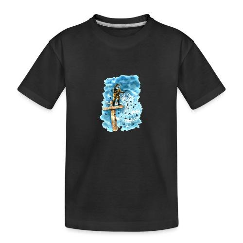 after the storm - Teenager Premium Organic T-Shirt