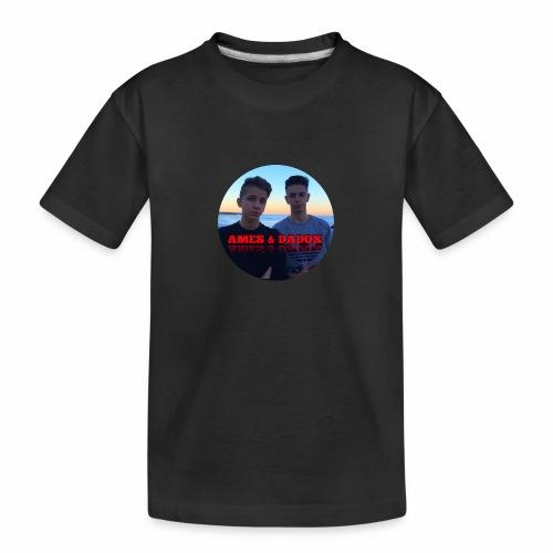 AMES & DADOX - Maglietta ecologica premium per ragazzi