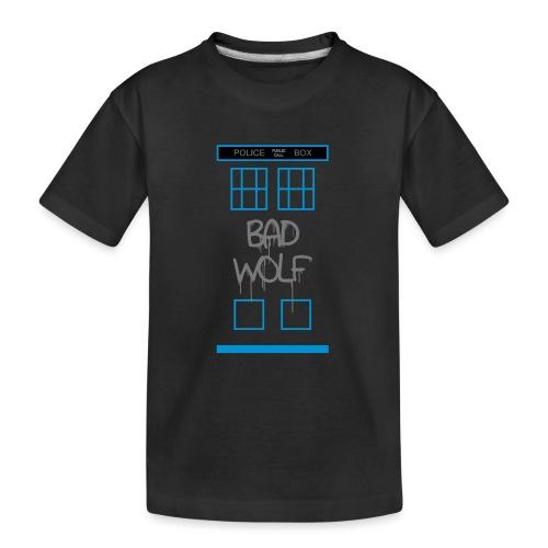 Doctor Who Bad Wolf - Maglietta ecologica premium per ragazzi