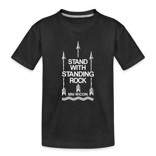 Stand - Teenager premium T-shirt økologisk