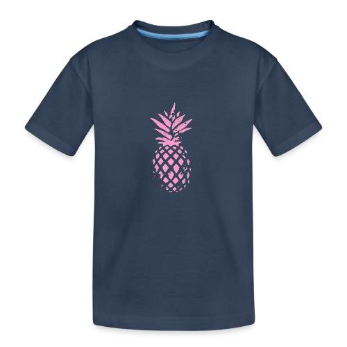 ananas rose - T-shirt bio Premium Ado