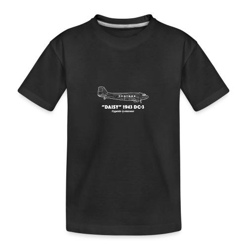 Daisy Blueprint Side 2 - Ekologisk premium-T-shirt tonåring
