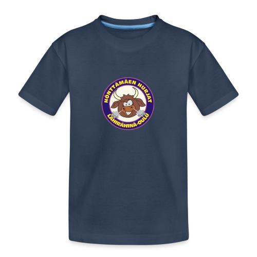Hönttämäen hurjat - Teinien premium luomu-t-paita