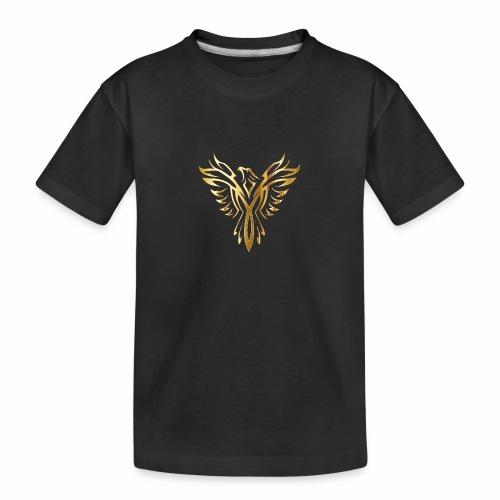 Złoty fenix - Ekologiczna koszulka młodzieżowa Premium