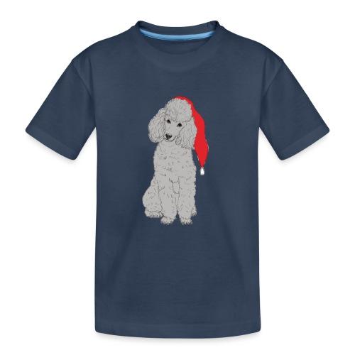 Poodle toy G - christmas - Teenager premium T-shirt økologisk