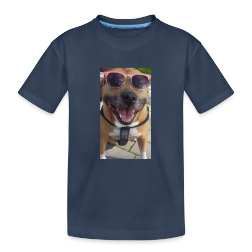 Cool Dog Foxy - Teenager premium biologisch T-shirt