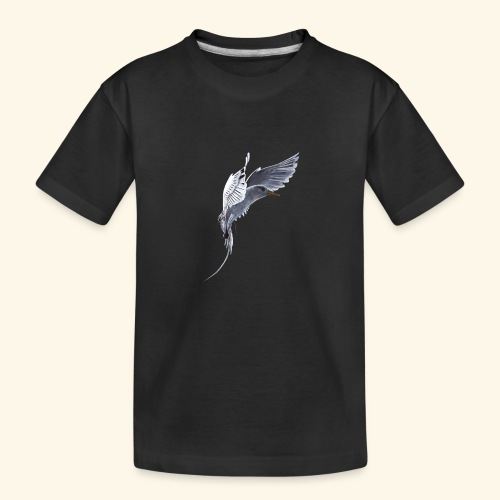 Weißschwanz Tropenvogel - Teenager Premium Bio T-Shirt